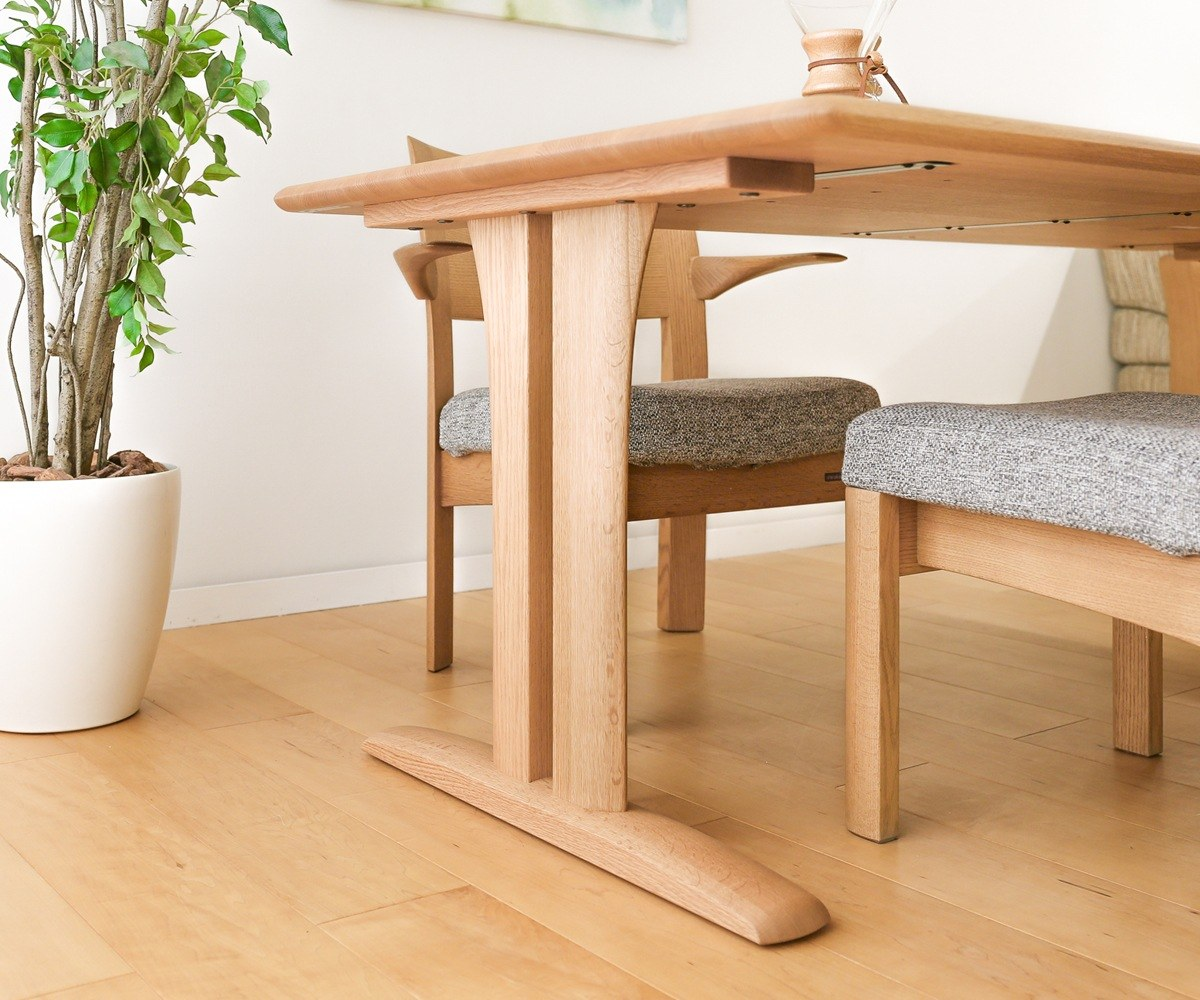 Dining table 2 legs