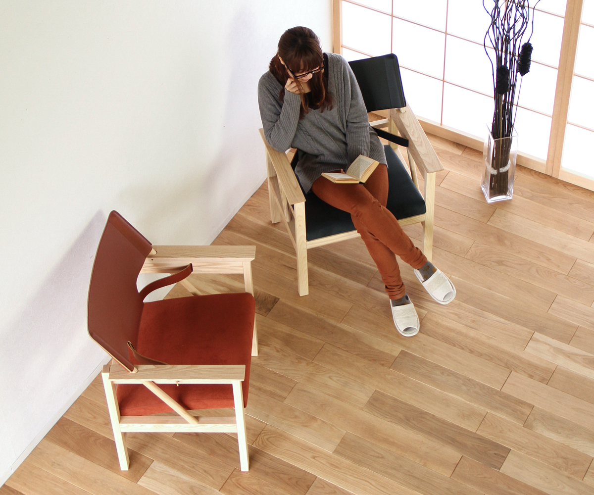 07 LIVING ARM CHAIR (07 リビングアームチェアー)